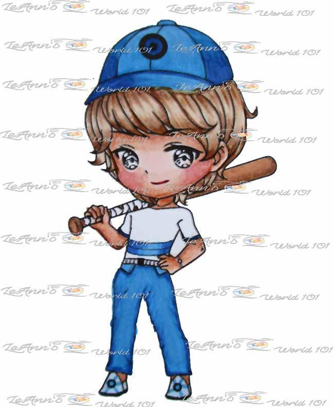 Baseball - Digital Stamp