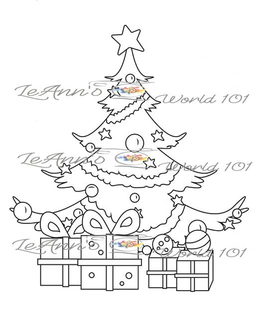 Presents - Digital Stamp
