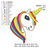 Unicorn applique embroidery design UNICORN embroidery machine embroidery