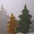 2pc Pine Tree Cutting Die Set