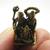 Lord Shiva Maa Uma and Ganesha mini statue figurine amulet God Goddess Deity