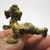 Crawling Baby Ganesh mini brass amulet statue figurine Lord Ganesha ganapati