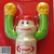 Yakult (ヤクルト Yakuruto) Boxer Figure - Bottle Shape Boxing PVC Action Figure -