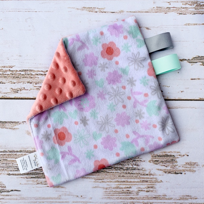 Mini Lovey - Pastel Floral & Shell Pink