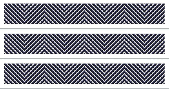 Estonian colors striped scarf