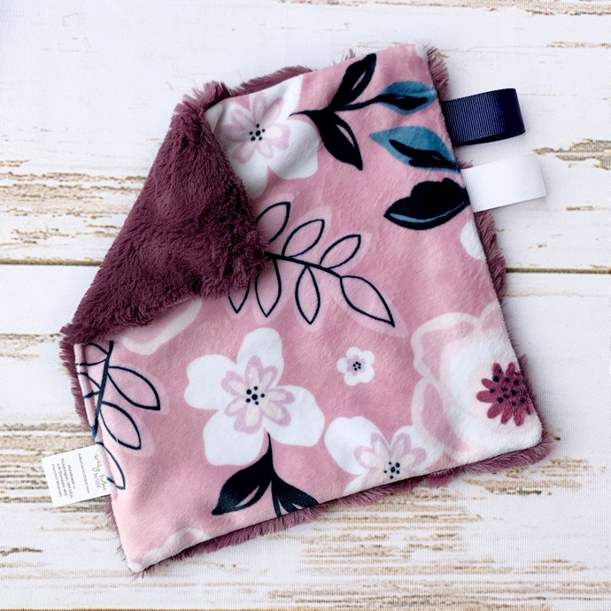 Mini Lovey - Floral Woodrose & Mulberry Hide
