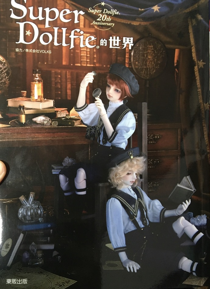 Super Dollfie 20th Anniversary Japanese Dolly World Gallery Collection Book (In