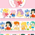 Pre-Order 1 Roll of Limited Edition Washi Tape: Sailor Moon months of the year