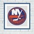 New York Islanders cross stitch pattern