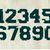Sport grunge font alphabet vector. Vintage college font, Sport alphabet, ragged