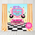 50s Sock Hop Party Backdrop, Birthday Party Banner, Any Wording, Printable