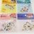 60 pcs Japanese Disney Sticker (Pick 1): Winnie the Pooh, Monsters, Princesses,