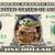 BABY YODA on REAL Dollar Bill Star Wars Cash Money Memorabilia Collectible