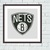 Brooklyn Nets cross stitch pattern