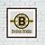 Boston Bruins cross stitch pattern