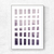 Abstract Artwork Set Of 3 Prints Geometric, Abstract Printable Modern Home