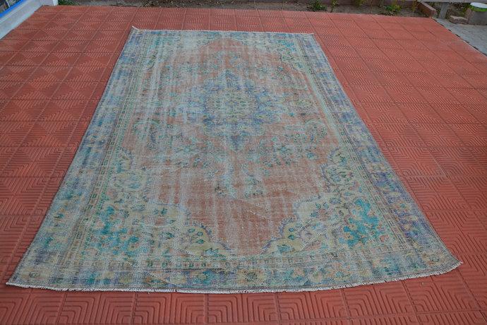 Antique Oversized Tapis Berber, Carpet Rug, Red Rug, Rug Living Room, Large