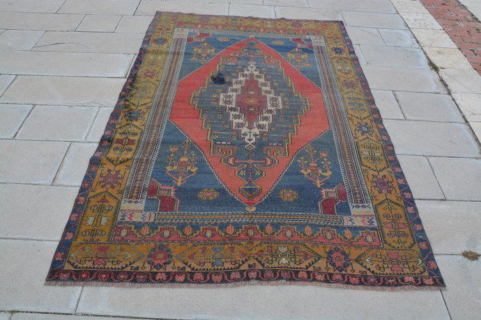 Oushak Rug, Vintage Rugs, Rugs Made in Turkey, Turkish Carpet Company, Antique