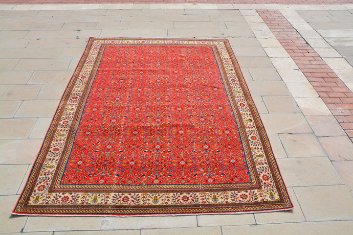 Shag Area Rugs, Large Rugs, Hearth Rug, Clearance Rugs, Rugs for Sale, Red and