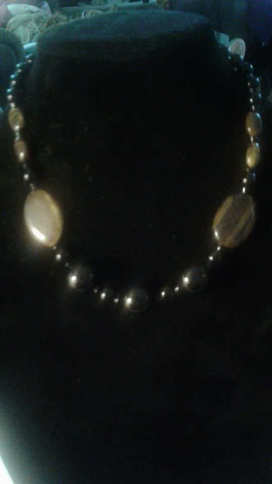 Large Tiger Eye Necklace