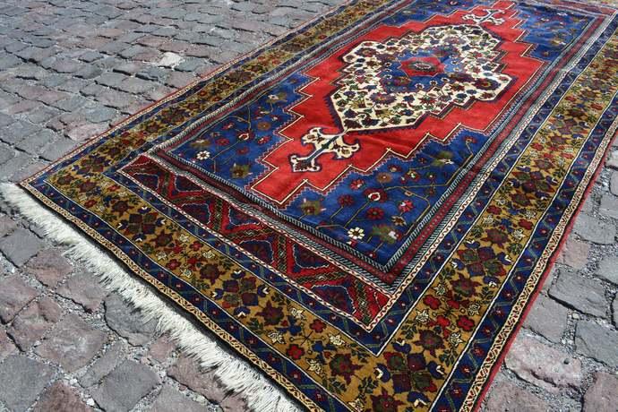 Vintage Home Decor, Antique rug, Oushak Rug, Area rug, Vintage Rugs, Turkish