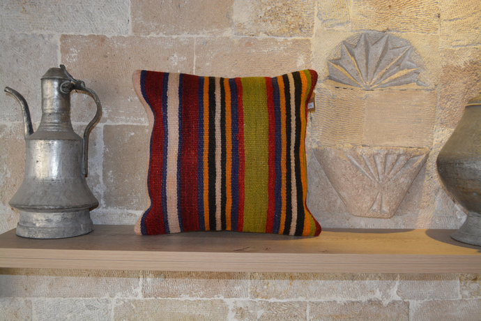 Pillow Cover, Kilim Cushion Cover, Kilim Rug, Vintage Pillow, Pillow Covers,