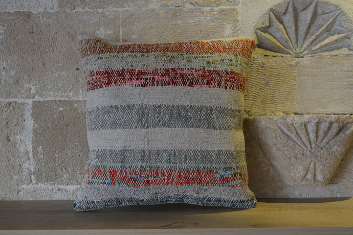 Kilim Cushion Cover, Kilim Pillow, Kilim Pillow Cover, Turkish Kilim Pillow,