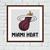 Miami Heat cross stitch pattern