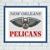 New Orleans Pelicans cross stitch pattern