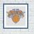 New York Knicks cross stitch pattern
