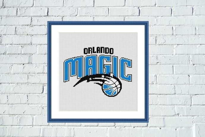 Orlando Magic cross stitch pattern