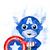 Marvel Comics Set, Superhero print, Captain America, Hulk Thor print poster home