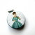 Tape Measure Glamourous Ladies Small Retractable Measuring Tape