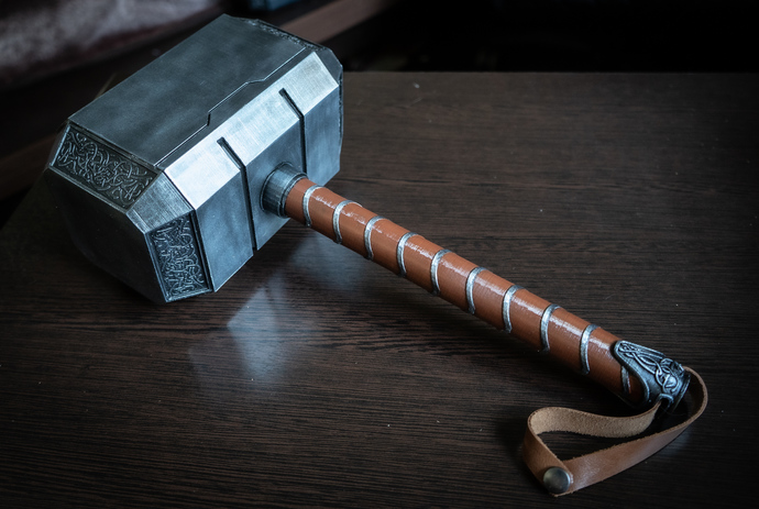 Thor Hammer | Hammer of Thor | Thor | Fan Art and Cosplay