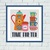 Time for tea cross stitch pattern Tea cups set kitchen housewarming embroidery