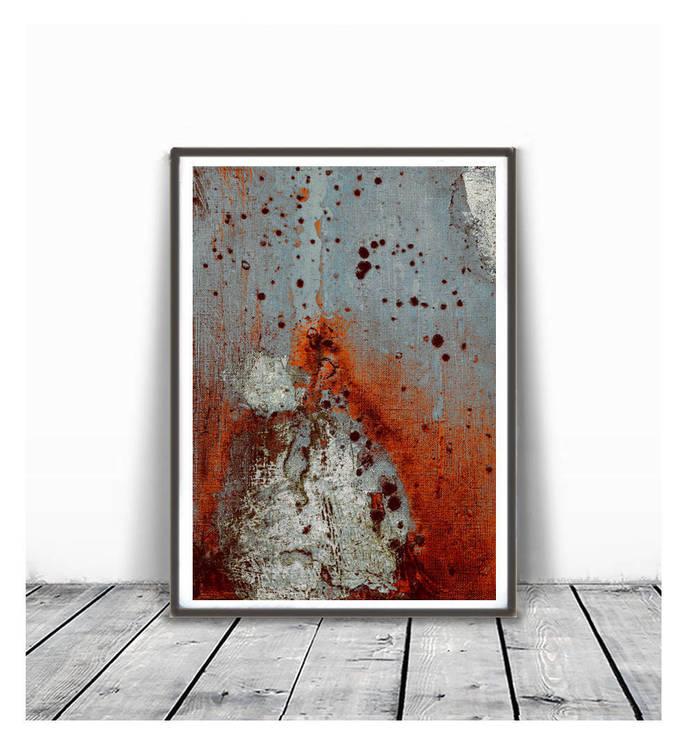 Printable Art, Vintage Finish, Art Poster, Digital Download, Wall Decor, modern