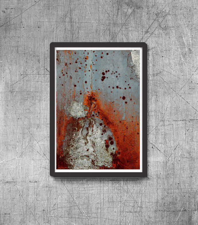 Printable Art, modern abstract, Industrial Decor, Colorful wall art, Set of 2