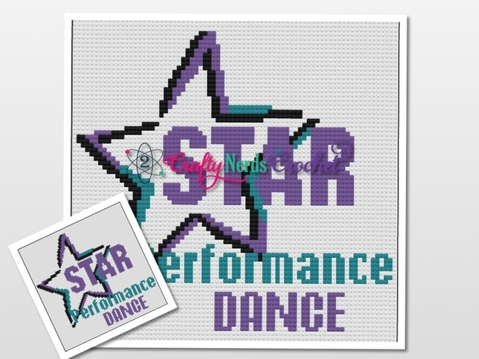 Star Performance Dance Pattern Graph With C2C Written