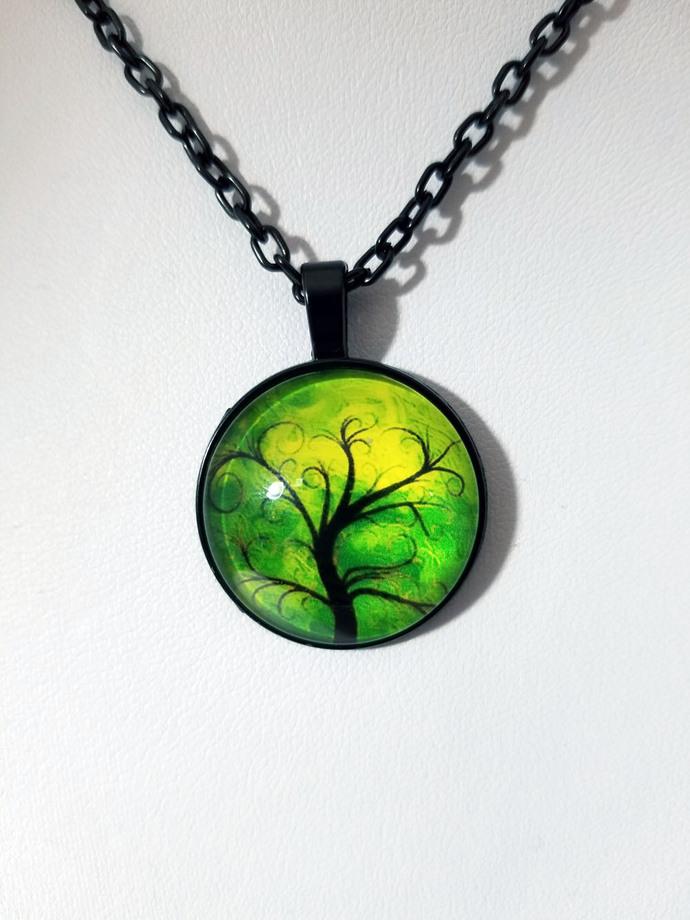 Tree necklace, tree pendant