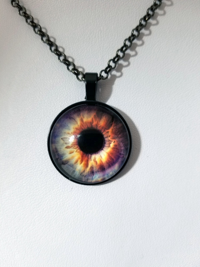 dragon eye necklace, dragon jewelry, gamer wear
