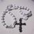 All white Protestant Prayer beads