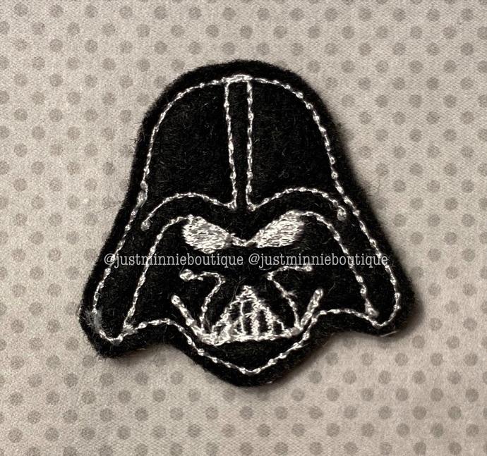 Dark Side 4 pc UNCUT Feltie