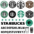 Starbucks Font and Logo SVG TTF OTF Bundle Old and Il Giornale Coffee Cup