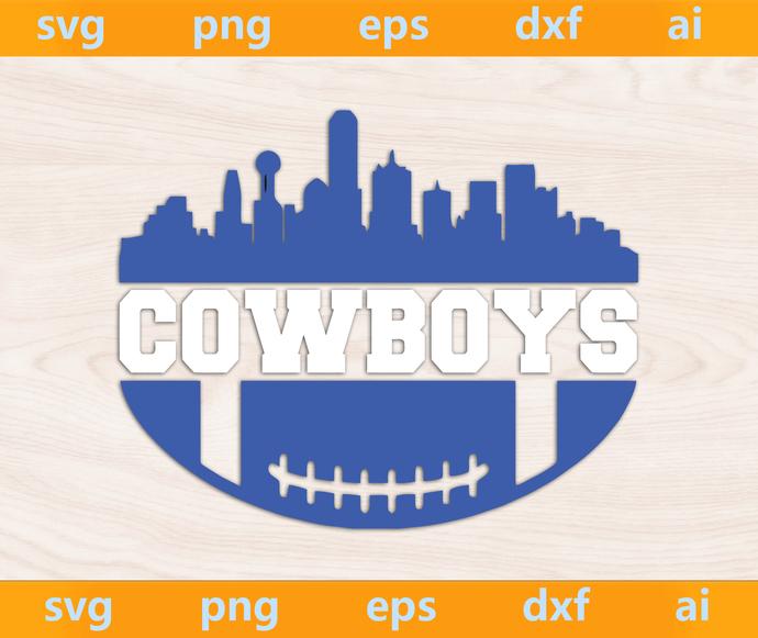 Cowboys svg, Cowboys ai, Cowboys png, Cowboys eps, Cowboys dxf, Cowboys