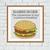 Hamburger inspirational quote cross stitch pattern
