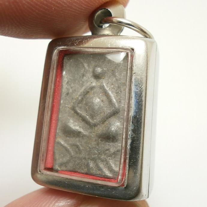 LP Sook Suk Powerful Double Buddha amulet 1910s wat pakklongmakamtao temple