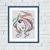 Colorful woman Pop Art cross stitch pattern