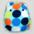 Mod Dots on Blue - Cloth Diaper or Cover - You Pick Size and Style - Made to