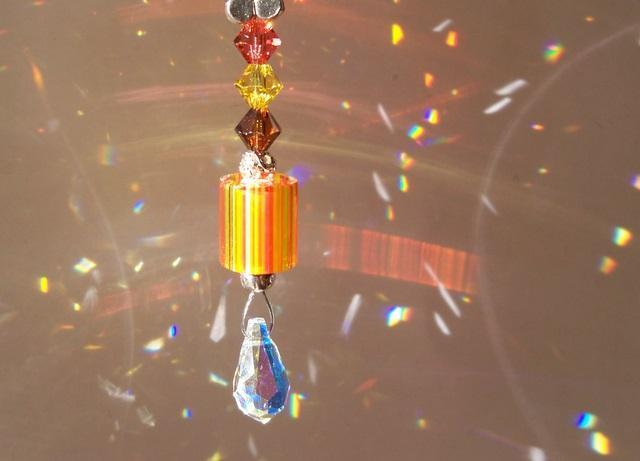"Sun Catcher ☼""Sparklers""☼ - Orange"