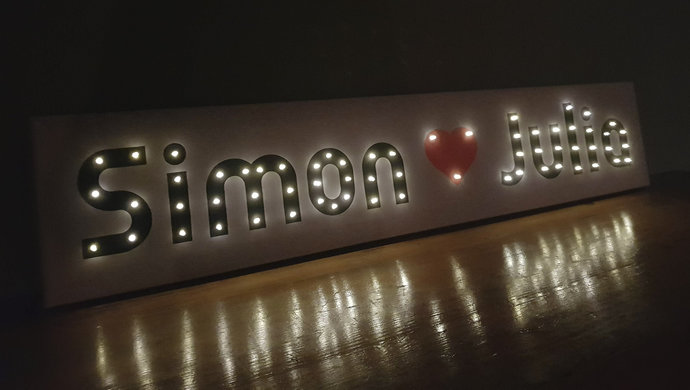 Custom neon sign wedding, Gift for couples, I love you sign, Large love sign,